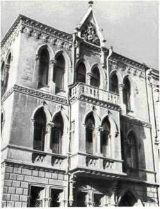 Жилой дом на Воронцовской ул., 19. Фрагмент
