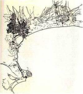 План Баку. 1878 г.