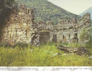 Остатки храма Лекит