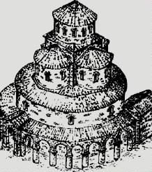 Рисунок восстановленного храма