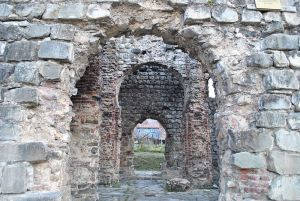 Использование камня в архитектуре Азербайджана
