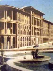 Общий вид  здания в советское  время