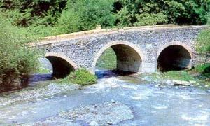Мост через р. Гянджачай